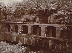 Dhedwada Cave. General view, [Ellora]